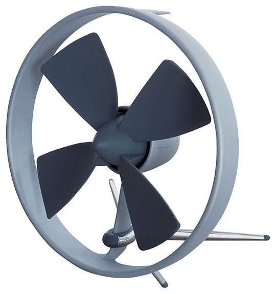 Modern Desk Fan : Black blum propello desk fan modern