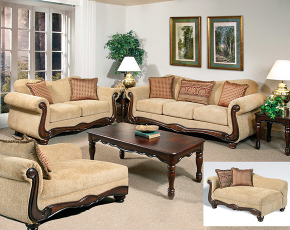 Thunder Brass Sofa And Loveseat Set Traditional Sofas Columbus By Ame