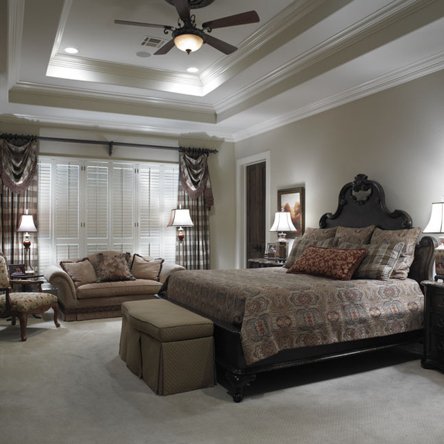 Master bedroom for Interior design bedroom traditional