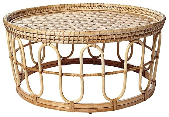 Banda Coffee Table tropical-outdoor-coffee-tables
