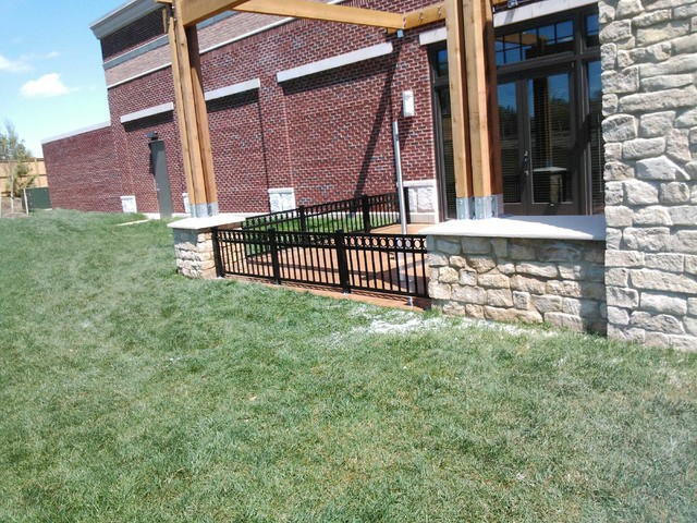 Commercial Fencing modern-home-fencing-and-gates
