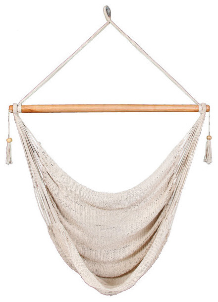 White Hammock Chair Traditional Outdoor Products other metro by Masay