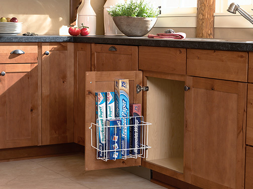 Sink Storage Door Rack - Kitchen Drawer Organizers - minneapolis - by Mid Continent Cabinetry