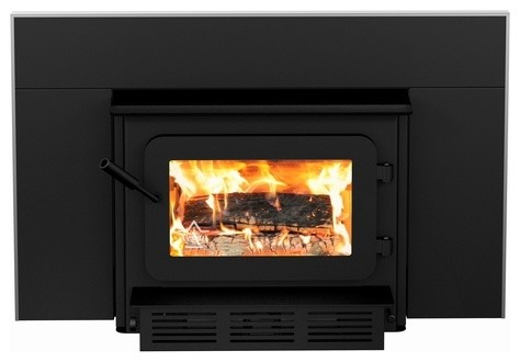 Flame XTD 1.9-I Woodburning Insert traditional-fireplaces
