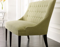 Button-Back Settee traditional-sofas