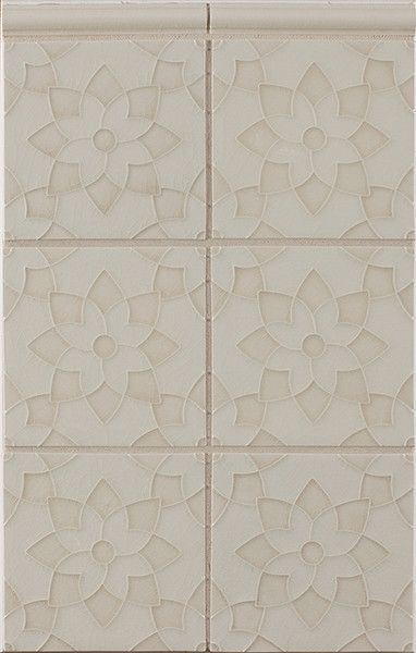 Motif Pattern H in Colorfill 1 contemporary bathroom tile
