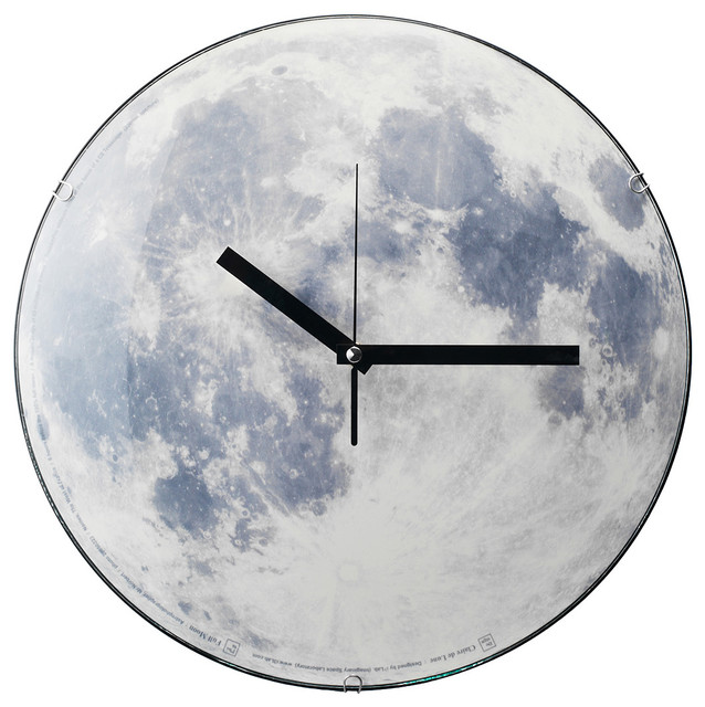 Moon Clock contemporary clocks