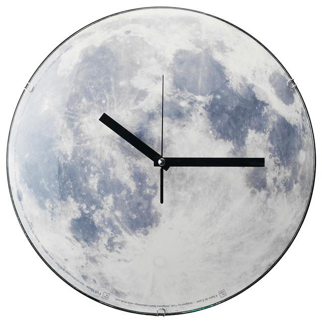 Moon Clock contemporary-clocks
