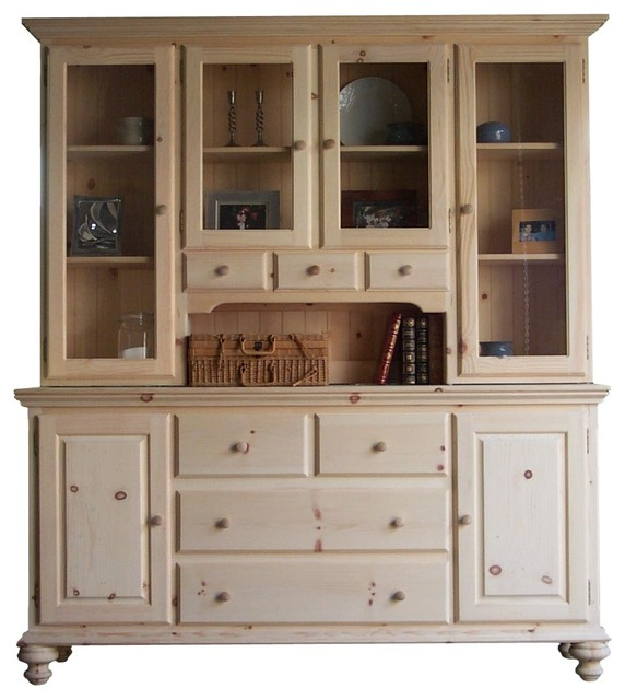 Wooden wood buffet with hutch pdf plans
