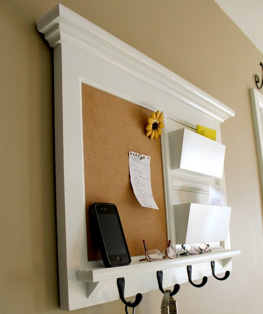 Double pocket mail organizer - Traditional - Bulletin Boards And Chalkboards - toronto - by Rozemake