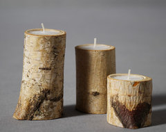 Birch & Spade Tealight Holders eclectic candles and candle holders
