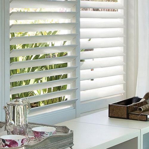 Blinds Com Brand Track Fauxwood Shutter Contemporary