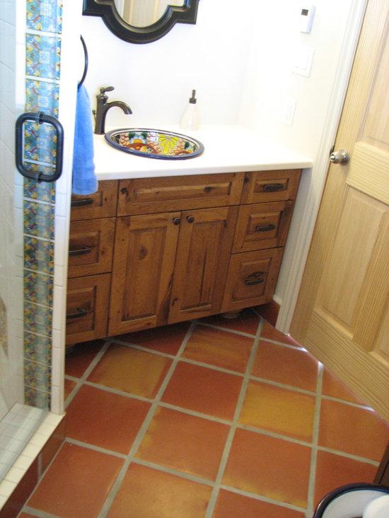 Heidi's Saltillo Bathroom -
