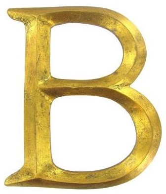 Polystone Letter - traditional - artwork - by Hobby Lobby
