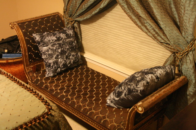 Gilded Bench Settee