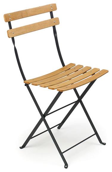 Fermob Bistro Folding Chair Wood Slats Modern Living