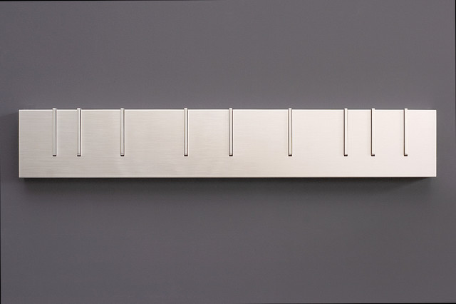 Symbol Coat Rack: Monochrome - Modern - Wall Hooks - by DESU DESIGN
