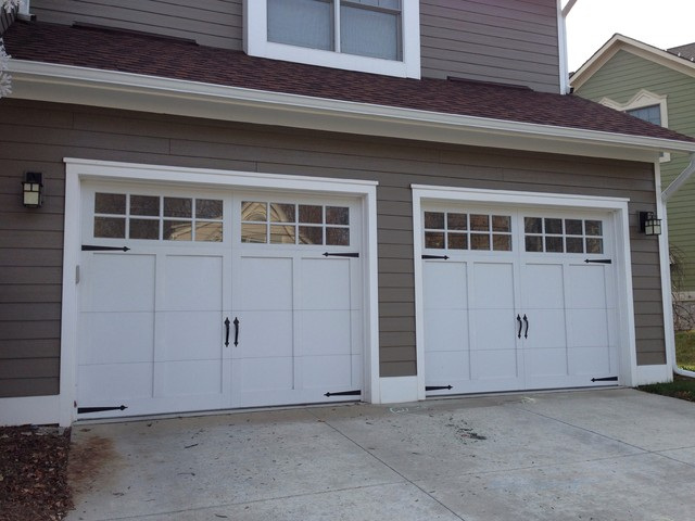 Carriage House Garage Doors Craftsman Garage And Shed
