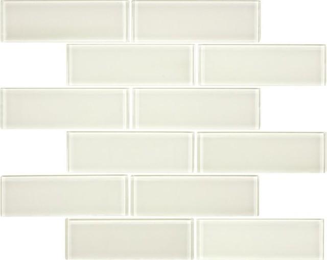 Mosaic Tile As Interior Elements : Mosaic Tile As Interior Elements : Bliss Glass Tile Sand Element