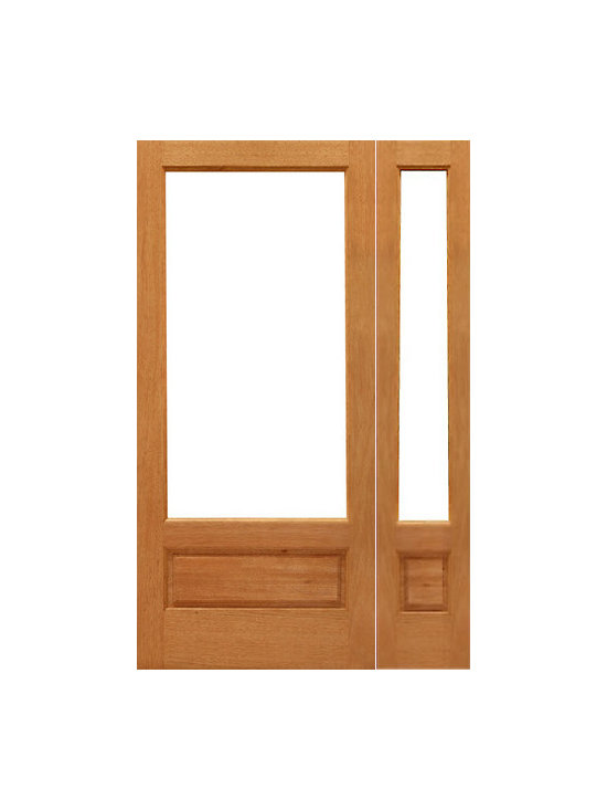 "Prehung 1-lite-P/B French Brazilian Mahogany Wood 1 Panel IG Glass Sidelite Door - SKU#    1-lite-P/B-Ext-1-1Brand    AAWDoor Type    FrenchManufacturer Collection    Mahogany French DoorsDoor Model    Door Material    WoodWoodgrain    MahoganyVeneer    Price    1524Door Size Options    [24""+14"" x 96""] (3'-2"" x 8'-0"")  $0[24""+18"" x 96""] (3'-6"" x 8'-0"")  $0[30""+14"" x 96""] (3'-8"" x 8'-0"")  $0[30""+18"" x 96""] (4'-0"" x 8'-0"")  $0[32""+14"" x 96""] (3'-10"" x 8'-0"")  $0[32""+18"" x 96""] (4'-2"" x 8'-0"")  $0[36""+14"" x 96""] (4'-2"" x 8'-0"")  $0[36""+18"" x 96""] (4'-6"" x 8'-0"")  $0Core Type    SolidDoor Style    Door Lite Style    3/4 Lite , 1 LiteDoor Panel Style    1 Panel , Ovolo StickingHome Style Matching    Craftsman , Colonial , Cape Cod , VictorianDoor Construction    Engineered Stiles and RailsPrehanging Options    PrehungPrehung Configuration    Door with One SideliteDoor Thickness (Inches)    1.75Glass Thickness (Inches)    1/2Glass Type    Double GlazedGlass Caming    Glass Features    Insulated , Tempered , low-E , Beveled , DualGlass Style    Clear , White LaminatedGlass Texture    Clear , White LaminatedGlass Obscurity    No Obscurity , High ObscurityDoor Features    Door Approvals    FSCDoor Finishes    Door Accessories    Weight (lbs)    510Crating Size    25"" (w)x 108"" (l)x 52"" (h)Lead Time    Slab Doors: 7 daysPrehung:14 daysPrefinished, PreHung:21 daysWarranty    1 Year Limited Manufacturer WarrantyHere you can download warranty PDF document."