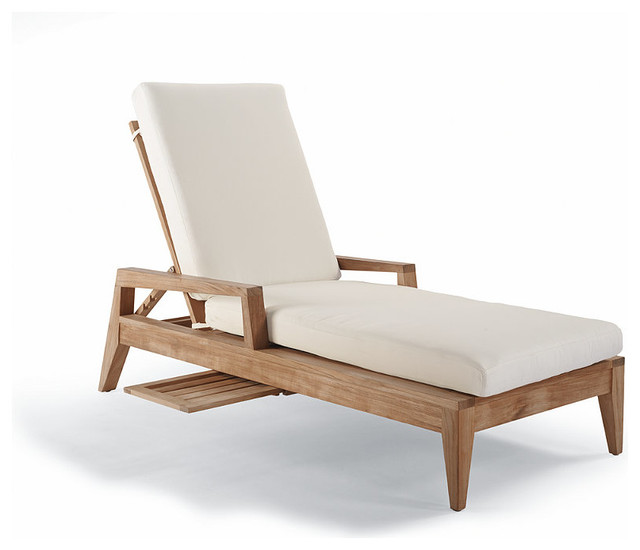 Peyton Outdoor Chaise Lounge with Cushion Patio Furniture