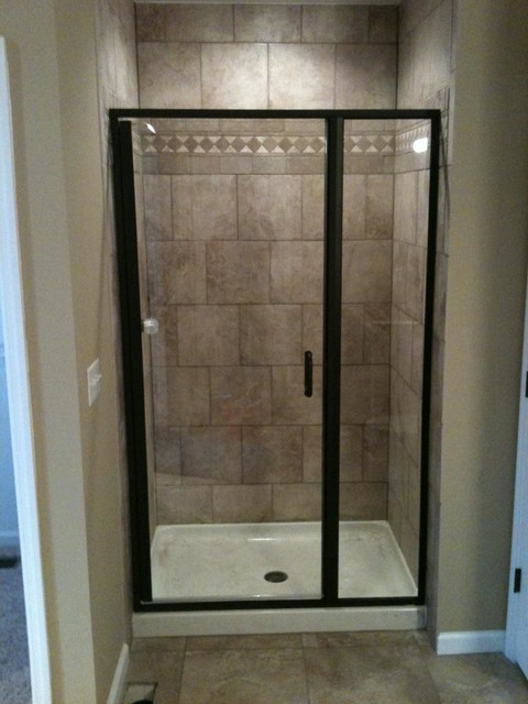 Custom Shower Enclosures - Shower Stalls And Kits - st louis - by Martin Glass Company