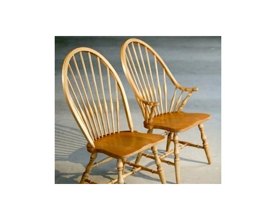 American Windsor Dining Chair - Made by http://www.ecustomfinishes.com
