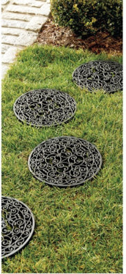Highgate Stepping Stones, Set of 4 traditional-outdoor-decor