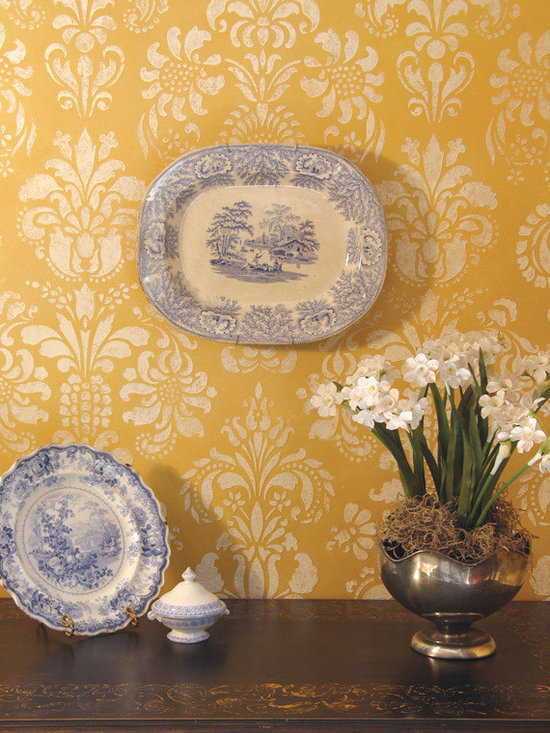 Damask Stencil, Large Scale