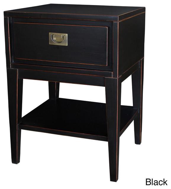 Cranston Mid-century Modern Tapered Leg Wood Nightstand ...