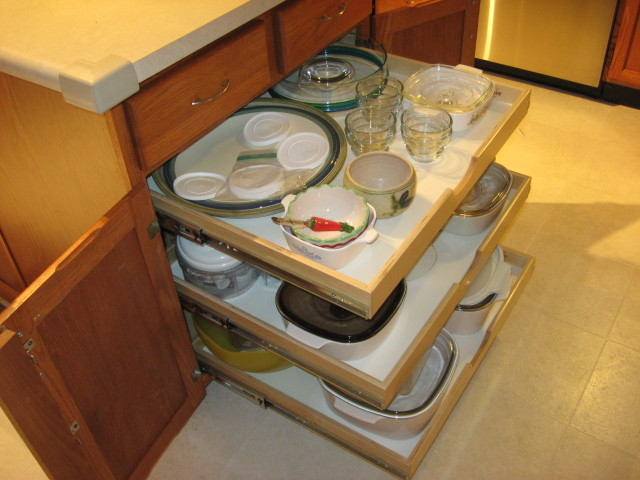 Kitchen Pull Out Shelves - Kitchen Drawer Organizers - other metro ...