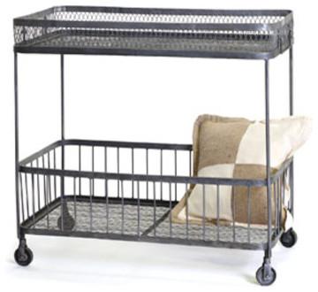 Loft Bar Cart eclectic-bar-carts