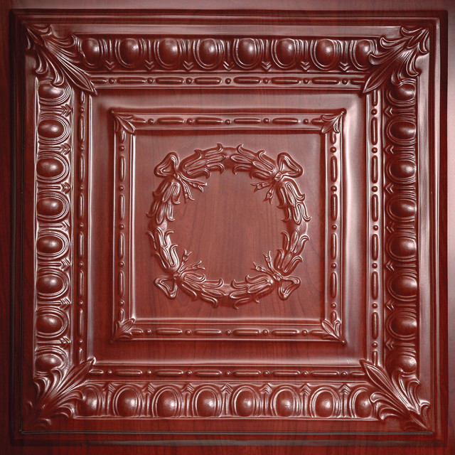 Empire Cherry Wood Ceiling Tiles traditional-ceiling-tile