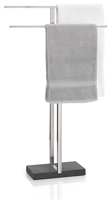 Menoto Towel Stand, Matte contemporary-towel-bars-and-hooks