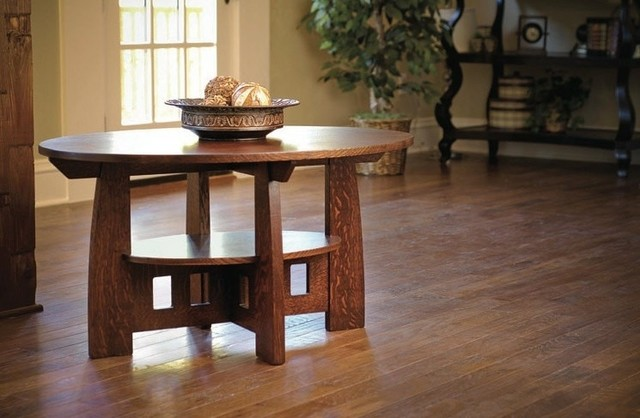 Craftsman Style Coffee Table Traditional Coffee Tables Other Metro By New Mission Workshop