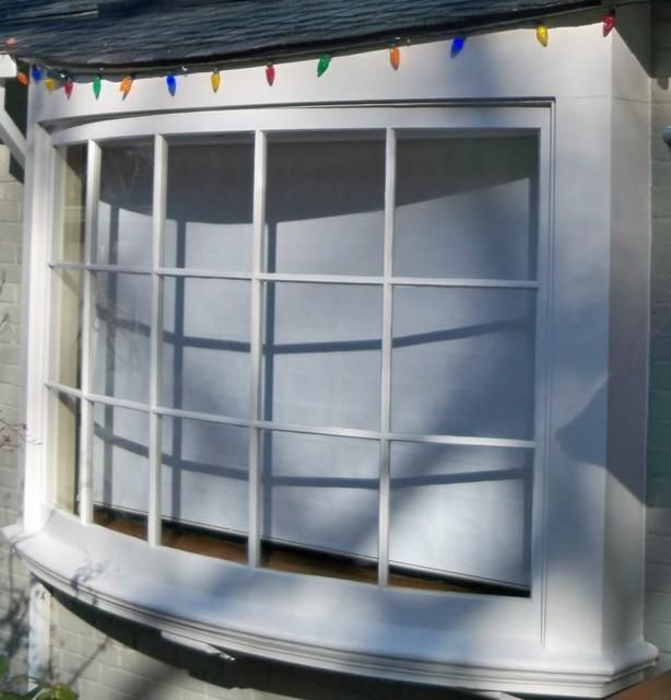 Custom Arched Window modern-exterior