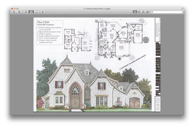 Fillmore house for Fillmore house plans