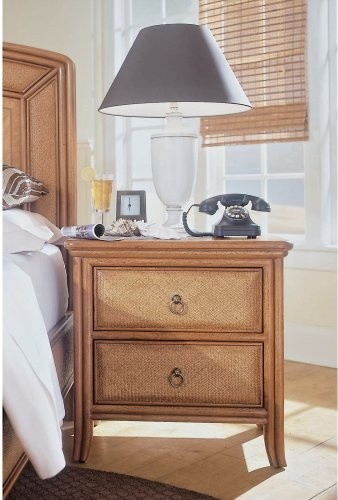 Antigua 2 Drawer Nightstand traditional-nightstands-and-bedside-tables
