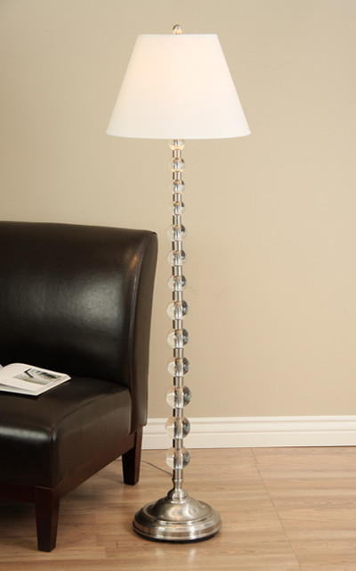 Endless Sphere Off White Shade Floor Lamp Modern Floor