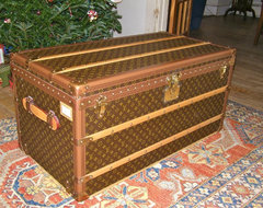 Like New Louis Vuitton Steamer Trunk traditional storage boxes