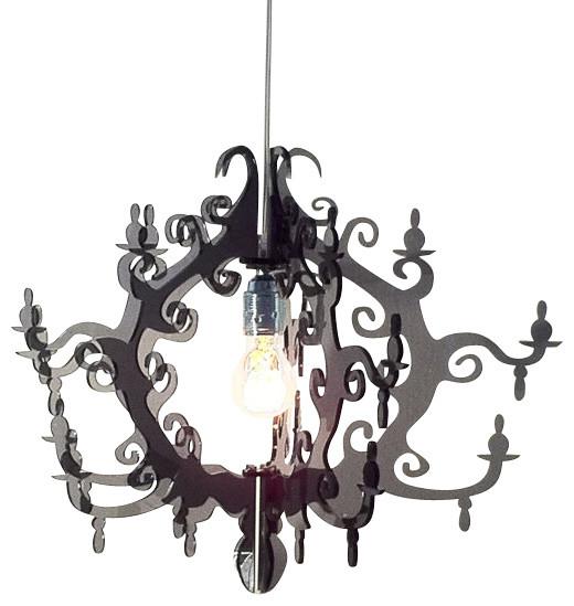 Claire de Lune Chandelier (7 arms) contemporary-chandeliers