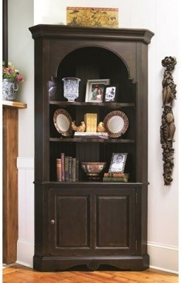 Paula Deen Home Corner Cupboard - Tobacco - Modern - Kitchen Cabinetry - by Hayneedle