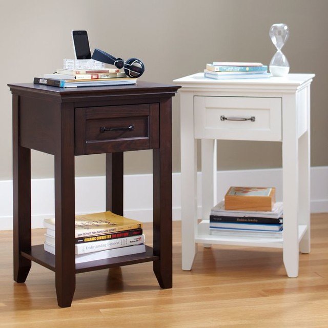 Hampton Bedside Table Nightstands And Tables
