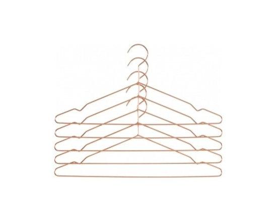 Hang Hanger, Copper, Set of 5 -