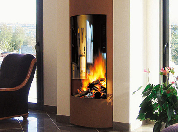 Oblica designer fireplaces modern-indoor-fireplaces