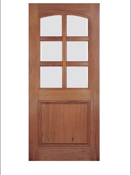 Walnut Entry Door Model # A79G -
