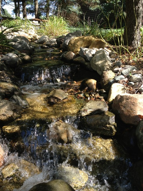 Pondless Stream And Waterfall Rustic Landscape Detroit