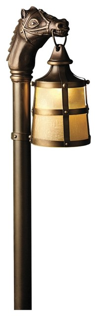 Country - Cottage Kichler Kentucky Horse Landscape Path Light traditional-outdoor-lighting