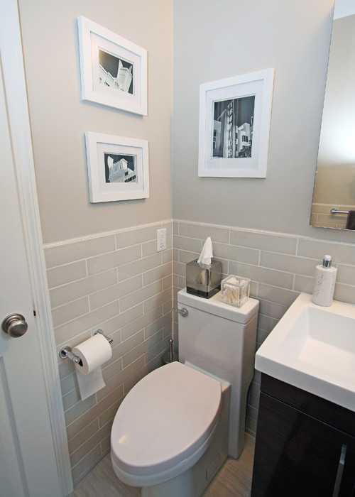 Nyc small bathroom renovation before after for Decorating a small bathroom with no window