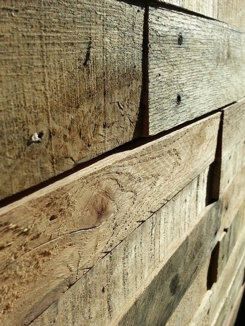 ... - Rustic - Wall Panels - other metro - by Sustainable Lumber Co
